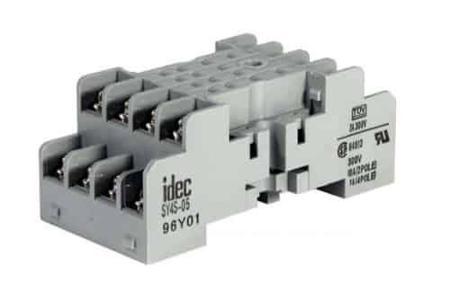 sy4s-05 14 pin din mount screw type socket