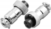 M12-2F 2 Pin Female M12 Circular Mic Connector