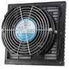 OA172LFG111T 115V 172mm louvered fan kit with fan installed IP54