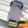 NW-12-010 10PK 1in x 12in Rip-Tie CinchStrap with Black Webbing