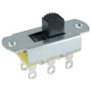 54-667 DPDT 6A On-Off Two Circuit Slide Switch .276in Actuator