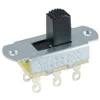 54-668 DPDT 6A On-Off Two Circuit Slide Switch .433in Actuator