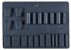 C, SC Molded Top Pallet - 22 Pockets, Turnbutton