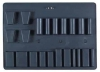 D, SD Molded Bottom Pallet - 22 Pockets