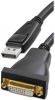 S-DSP-DVIF-3' DisplayPort To DVI/F Digital/Duallink 3 Ft