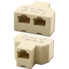 DC-101J-888 Modular Y Jack Adaptor 3 8p8c For Data