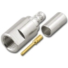 FME-2402 Straight Crimp Plug for RG-58/U