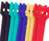 04-0640HLMC 10Pk 40 lb. 6 In Length Multi-Color Hook Loop Cable Tie