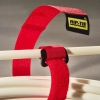 HB-09-100 100PK 1in x 9in Rip-Tie CableWrap with Buckle