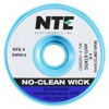 SW04 No-Clean Wick #4 Blue .098in (2.5mm) Width with Anti-static Bobbin