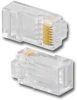 PT-0688-50UL CAT6 8P8C RJ-45 Stranded and Solid Conductor Cable Plug 50 pk